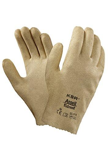 Gloves Cotton Ansell (Ansell KSR 22515 Vinyl Coated Interlock Knit Lined General Use Gloves)
