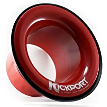 Kickport Bass Drum Port Red