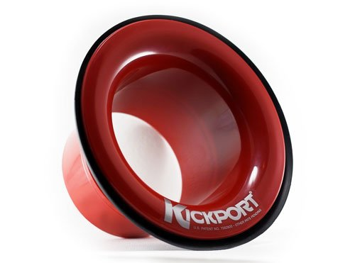 Kickport Bass Drum Port Red by Kickport