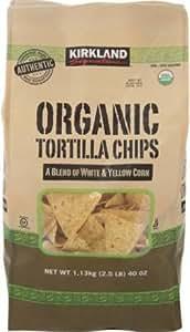 Organic Kirkland Signature Tortilla Chips 40oz Bag