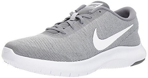 Nike Men's Flex Experience Run 7 Shoe, Wolf White-Cool Grey, 15 Regular -