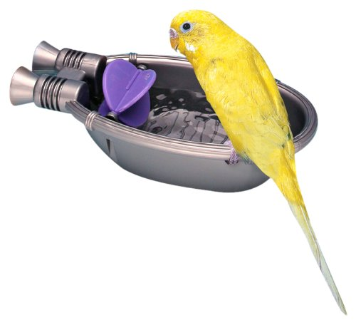 Pennplax Rocket Ship Bath Tub for Pet Birds Penn Plax INC. BA570