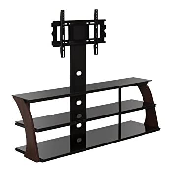 "Amazon ADBA TV Stand with mount up to 70"" TVS Cherry Kitchen"