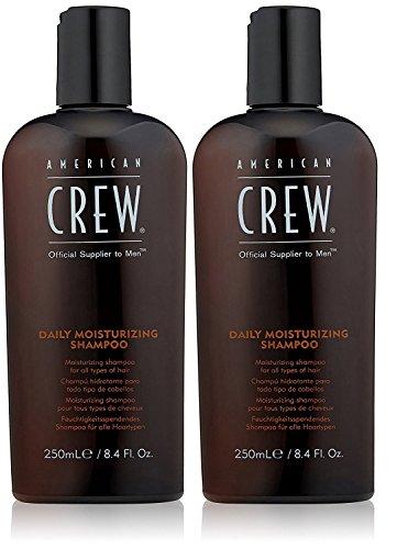 American Crew Daily Moisturizing Shampoo - American Crew Daily Moisturizing Shampoo, 8.4 Ounce (Pack of 2)