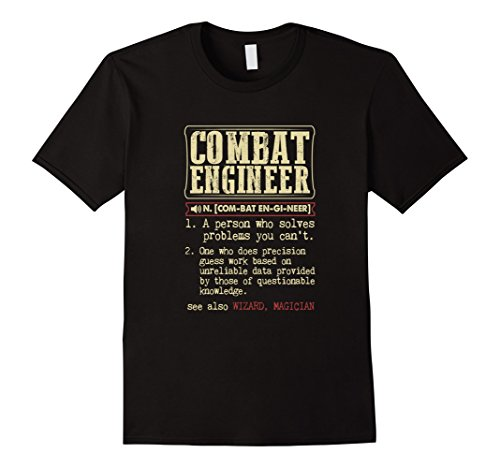 Combat Engineer Dictionary Term T Shirt product image
