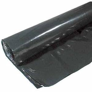 husky plastic sheeting black 6ml 40ftx100ft garden outdoor