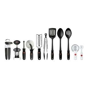 SoftWorks 17-piece Kitchen Tool Set