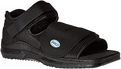 Darco Med-Surg Shoe, Black, Men's Medium 8-1/2 to 10