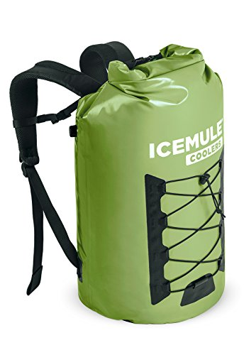 Cooler Excursion Picnic (IceMule Pro Insulated Backpack Cooler Bag - Hands-Free, Highly-Portable, Collapsible, Waterproof and Soft-Sided Cooler Backpack for Hiking, The Beach, Picnics, Camping, Fishing - 33 Liters, 30 Can)