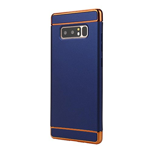 Coohole SWEET-460 2017 Thin Electroplate Hard Case Cover for Samsung Galaxy Note 5 / Note 8 (Blue, Note 8)