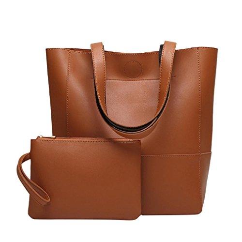 Crossbody Bag Shoulder Bags Women Totes Fashion By Esailq Brown