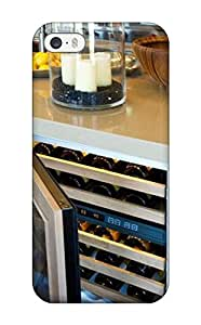 Fashion Tpu Case For Iphone 5/5s- Built-in Kitchen Island Wine Cooler Defender Case Cover