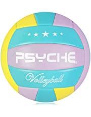 Volleyball Official Size 5,Soft Indoor Outdoor Volleyballs for Kids/Adults Gym Beach Games Play
