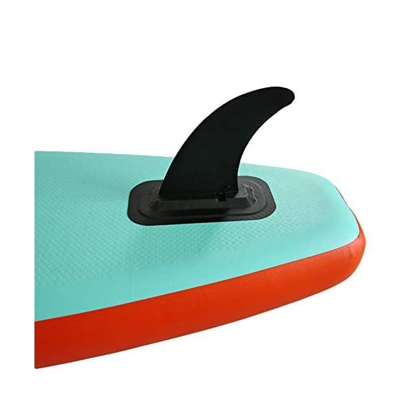 Stand Up Paddel Gonfiabile Double Layer gonfiabile SUP Stand Up Paddle Board con Paddle Carry Bag Kit di riparazione e… 4 spesavip