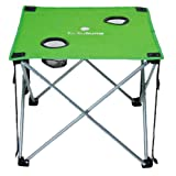 Lucky Bums Kids Camp Table, Green