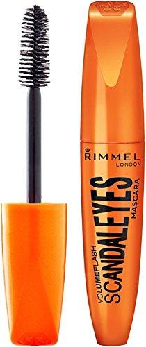 Rimmel London Volume Flash Scandal Eyes Mascara, Black 001 0.41 oz Pack of 4