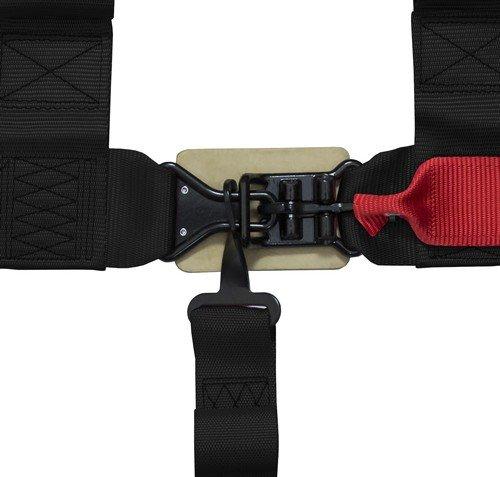 STVMotorsports 5 Point 3'' Straps Seat Harness Set Latch and Link Shoulder Pads RH5.3H - for Off-Road Vehicles, UTV, Trucks (Pair) (Black) by STVMotorsports (Image #7)