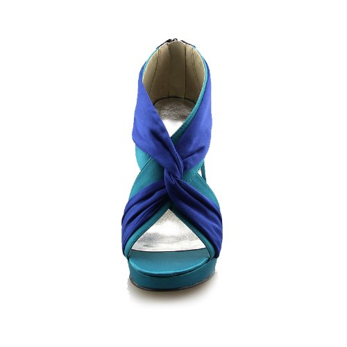 Minitoo - plataforma mujer Azul - azul