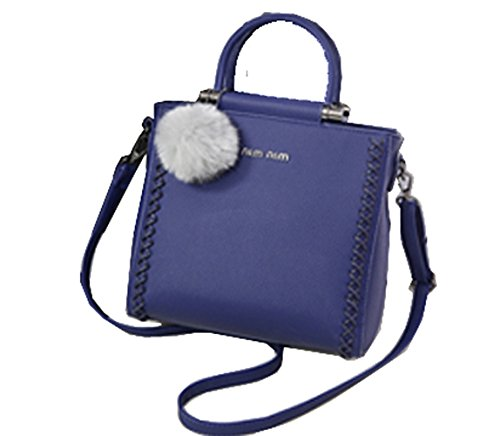 2016 New Design Woman Lady Bag Clutches Cross-body Bag Tote Bag Satchels Pu Leather Bag (black)
