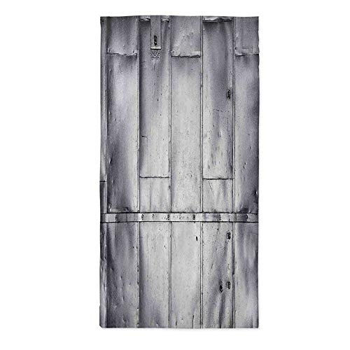Industrial Printed Tablecloth,Steel Panels Industrial Wall Theme Aluminum Background Futuristic Engineering Print Decorative for Rectangle Table Kitchen Dinning Party,52''W X 104.3''L