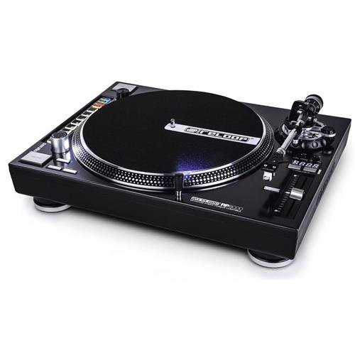 Reloop RP-8000 Advanced Hybrid Torque MIDI Turntable with Straight Tone Arm, Black (RP-8000-STR)