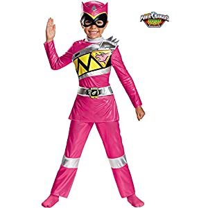 Pink Ranger Dino Charge Deluxe Toddler Costume Medium 3t 4t