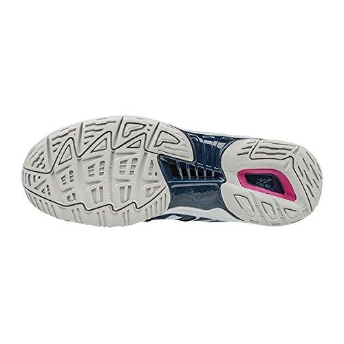 Phantom Mizuno Pour Chaussures Netball Ss17 Femme Wave Blanc De Agvqwf1