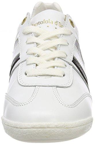 Blanco Zapatillas Mujer bright Imola D'oro Donne White Para Low Pantofola qUfA7wU