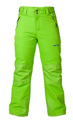 Arctix Youth Snow Pants with Reinforced Knees and Seat, Lime Green, Medium (Snow Pants Clearance compare prices)