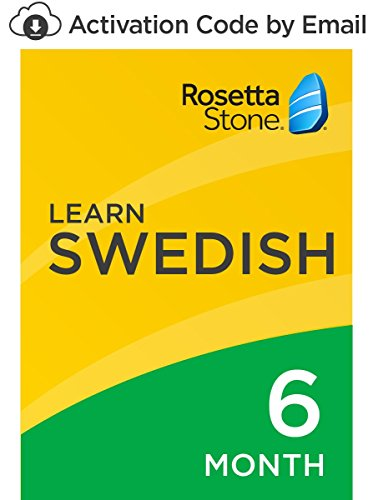 Rosetta Stone: Learn Swedish for 6 months on iOS, Android, PC, and Mac- mobile & online access [PC/Mac Online Code]