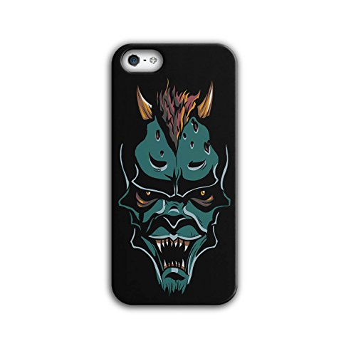 Scary Monster Demon Devil Lair NEW Black 3D iPhone 5 / 5S Case | Wellcoda (Goblin Outfit)