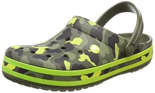 Army Citrus Crocs Clog Graphic Crocband Seasonal Green xwngOpq