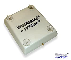 WinAerial™ Ultra Wide Band Personal 3G & 4G On-Window Single Antenna for Bandrich M250 M250