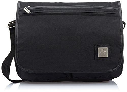 Mano Aktentasche Promo Travel Messenger Bag mit Laptop-fach (Schwarz) MPT9