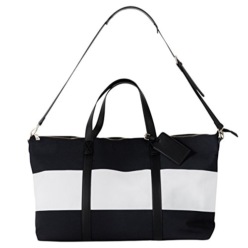 Callie Weekender (Black/White) by Summer & Rose