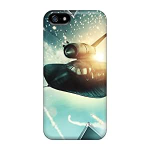 DaMMeke Perfect Tpu Case For Iphone 5/5s/ Anti-scratch Protector Case (x Men First Class Fighter Jet)
