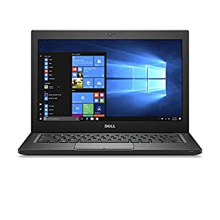 "Dell Latitude 7280 FHD Touch Screen, Intel Core i5-6300U X2 2.4GHz 8GB 256GB SSD 12.5"", Black (Certified Refurbished)"