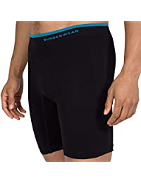 Runderwear Men's Long Boxer Briefs | Chafe-Free, Performance Underwear with Seamless Technology