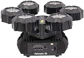 1 Chauvet Helicopter Q6 Rotating Dance Floor Light Rockville Transport Bag for