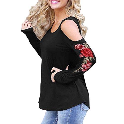 Женские футболки Tulucky Womens Cold Shoulder