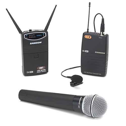 Samson UM1/77 Combo Micro Diversity Wireless System - Ch N1