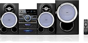 Philips FWM663/77 600W sistema de audio para el hogar - Microcadena (3 discos, 600 W, 40 channels, 28,5 g, 1250 mm, 340 mm)