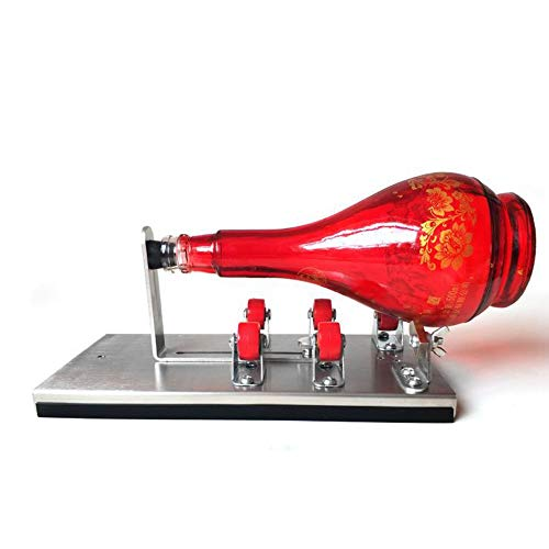 Stainless Steel Glass Bottle Cutter Wine Bottle Cutter for Round/Square/Irregular Glass or Ceramic Bottles Come with…
