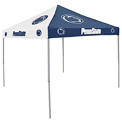 Image of Canopies NCAA Penn State Nittany Lions9-Foot x 9-Foot Pinwheel Tailgating Canopy, Navy/White