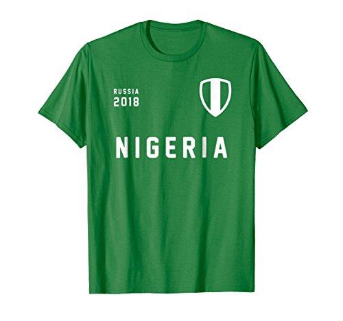 Nigeria football t-shirt | Super Eagles jersey 2018 | Russia