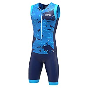 KONA Assault Triathlon Race Suit – Speedsuit Skinsuit Trisuit Sleeveless