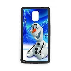 Olaf Samsung Galaxy Note 4 Cell Phone Case Black Delicate gift AVS_681203