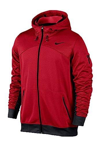 Nike Mens Kobe Dominator Hero Jacket Basketball Hoodie Red (Kobe Nike Hoodie)