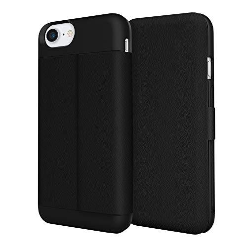 iPhone 7 Case, Incipio Wallet Folio Case [Credit Card Case][Vegan Leather] Cover fits Apple iPhone 7 - Black