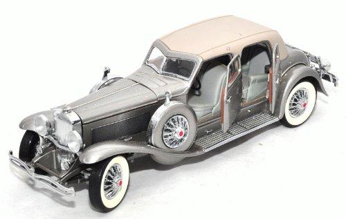 franklin-mint-1933-duesenberg-twenty-grand-diecast-124-scale-silver